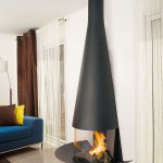 Focus - wall-mounted FILIOFOCUS gas fireplace