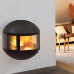 Focus - wood fireplace EDOFOCUS 631 exhaust outlet upwards